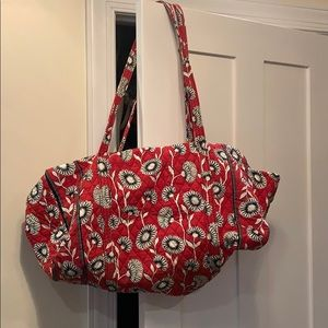 Vera Bradley carry on large duffel bag